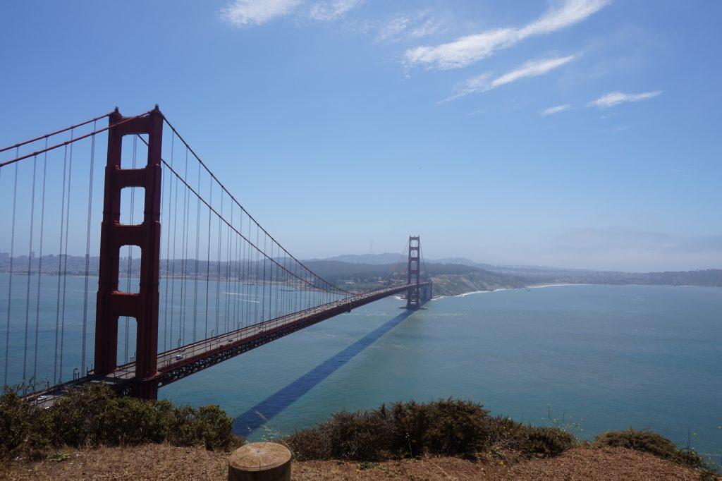 Oakland and San Francisco