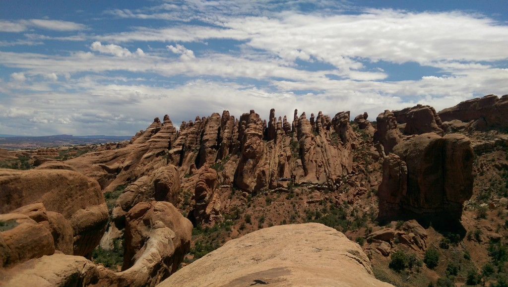 Arches National Park - The Fins