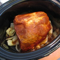 Slow Cooker Pulled Pork with Dr. Pepper
