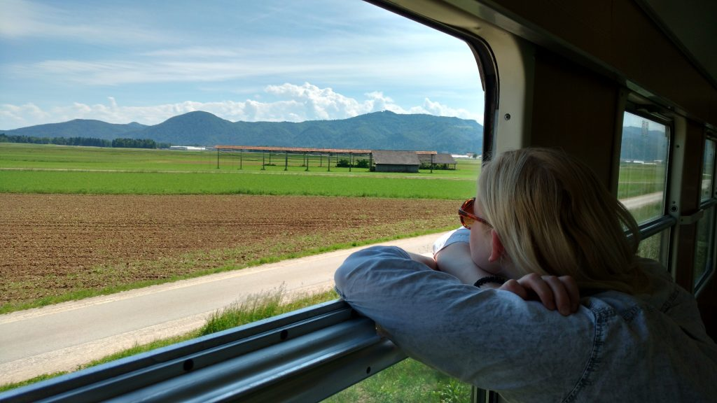How to Live More Sustainably Taking a Train to Slovenia