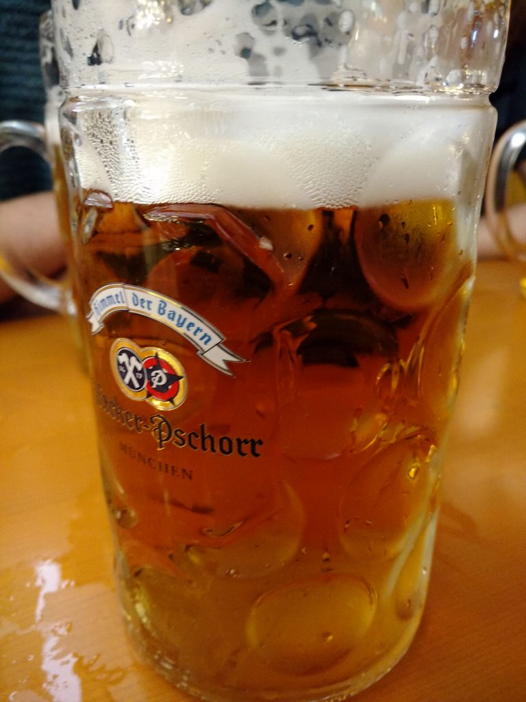 Oktoberfest Beer in a Mass