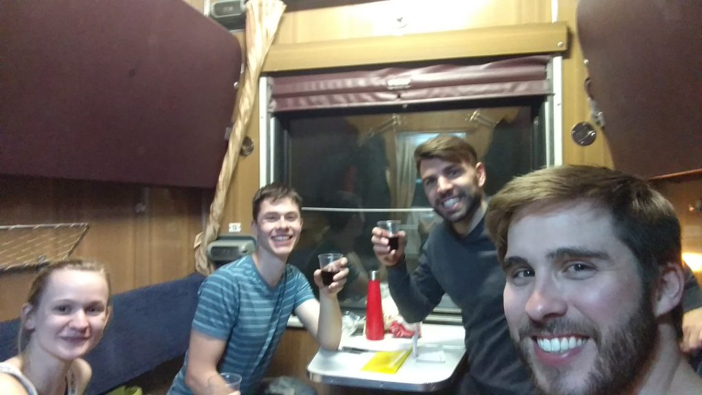 Getting Around the Caucasus by overnight train