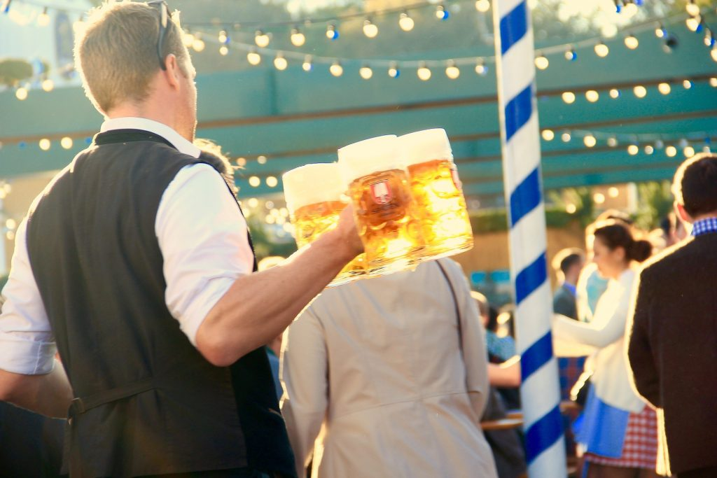 Oktoberfest Waiter Beer Festivals in Germany