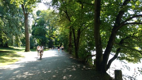 Summer in Munich, Cycling around the city