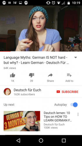 Learn German with Deutsch fuer Euch