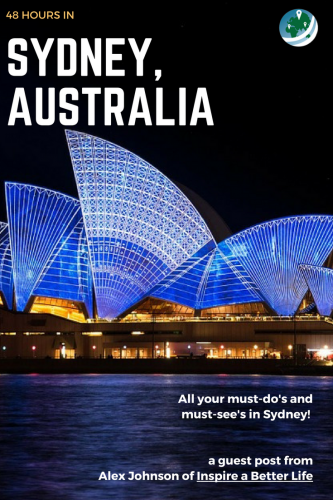 48 Hours in Sydney PinIt