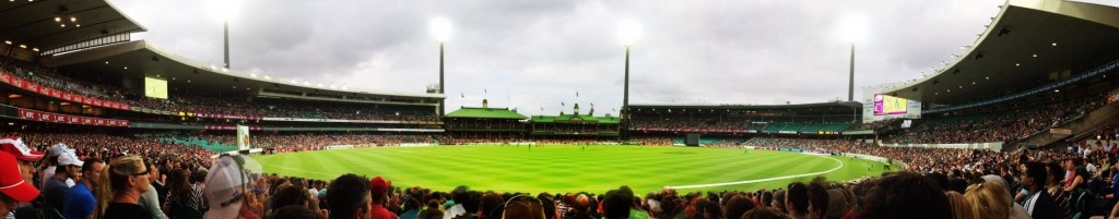 48 hours in Sydney Cricket Ground