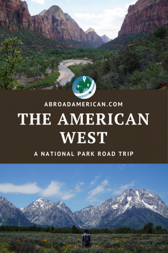 The American West pinit